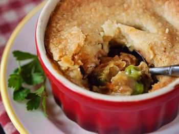 Single Serve Chicken Pot Pie