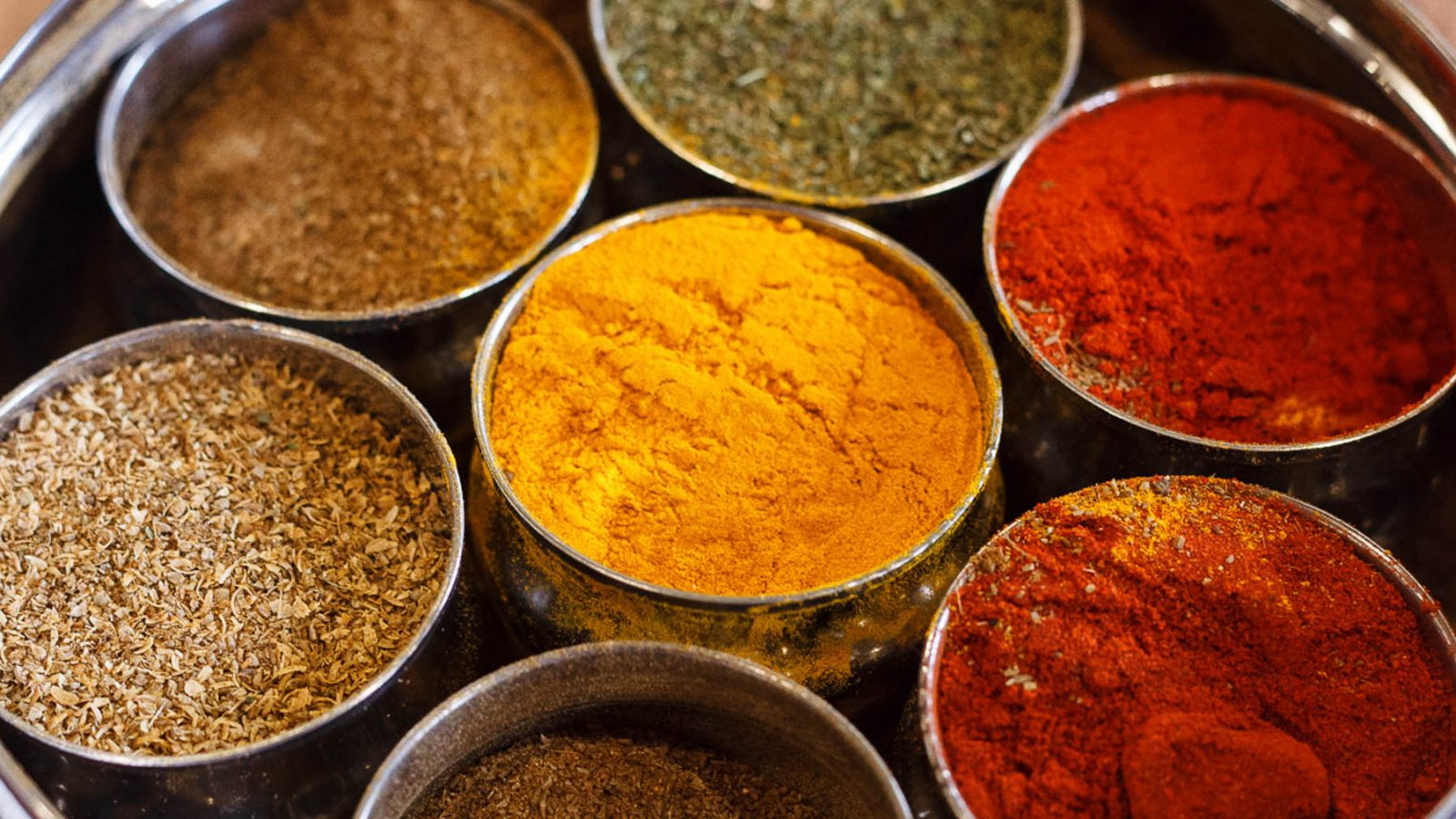 Fresh ground spices