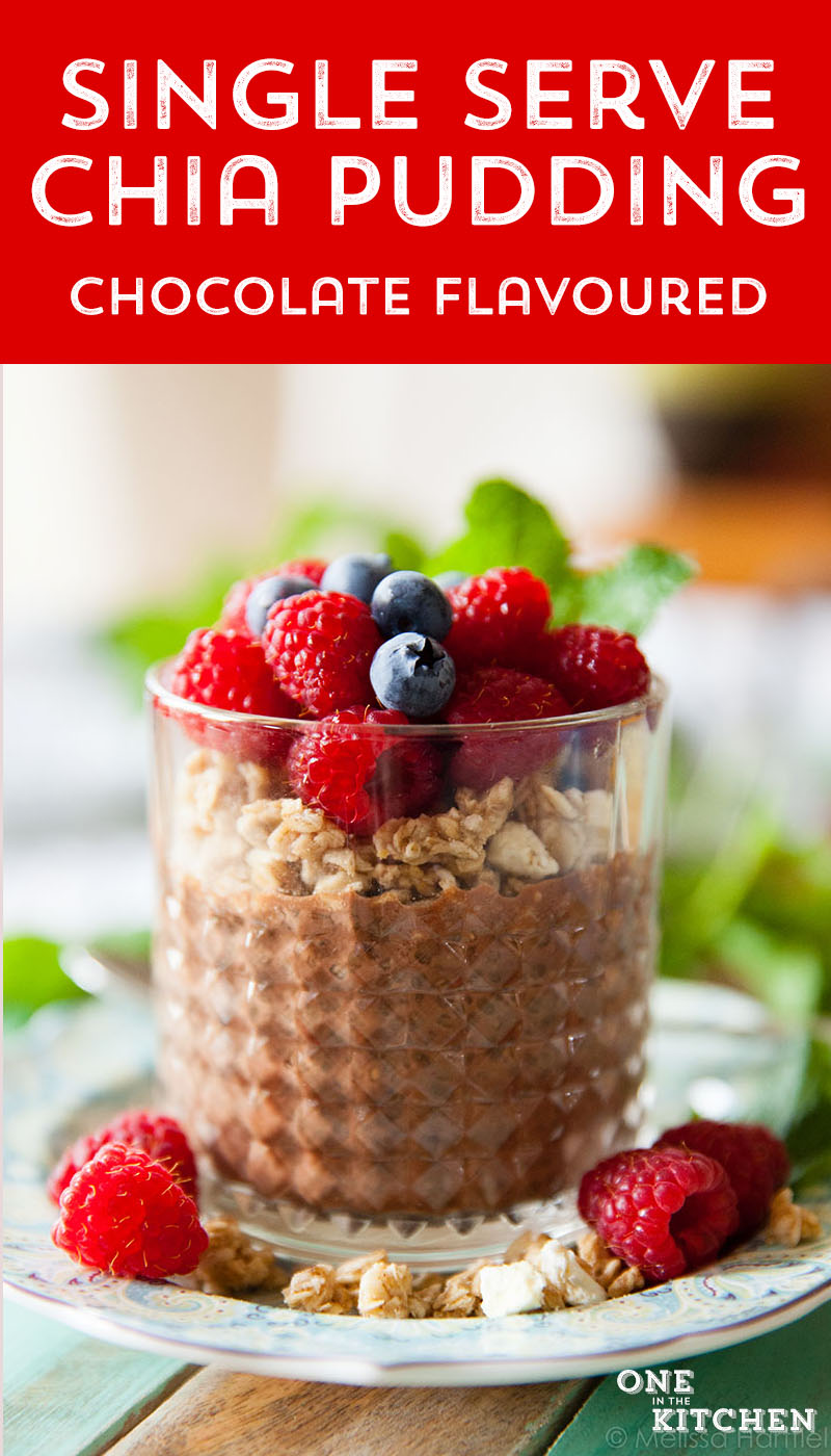 Single Serving of Chocolate Chia Pudding