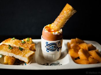 Soft Boiled Eggs and Toasted Soldiers for One