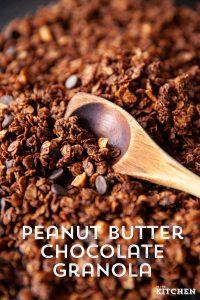 Peanut Butter Chocolate Graonla Pin 2